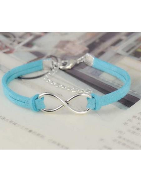 Bracelet en Cuir Infinity