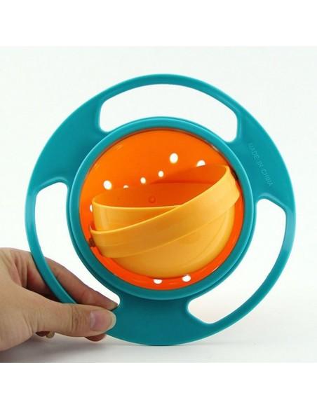 Tazón giratorio 360 ° Splashproof (para niños)