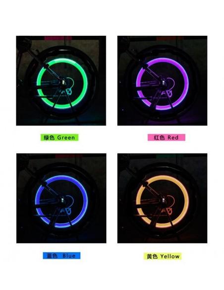 Iluminación led para ruedas