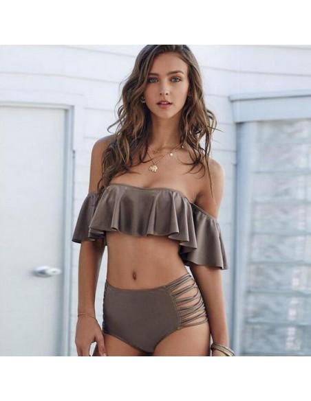Bikini de cintura alta