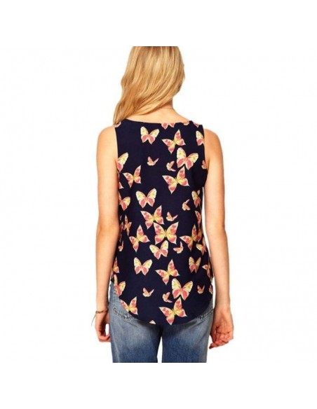 Butterflies Tank Top