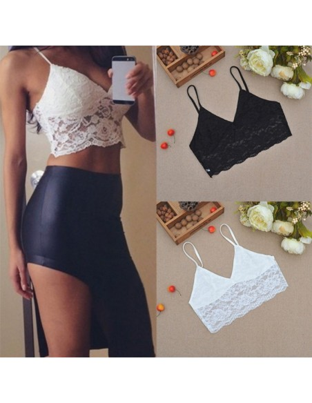 Crop Top en Dentelle