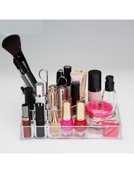 Almacenamiento de cosméticos 8 compartimentos