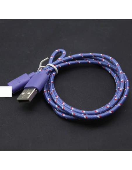 CABLE USB COULEUR IPHONE