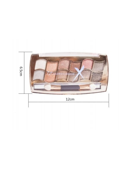 Eyeshadow palette 12 colors