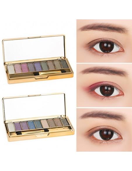 Sombra de ojos con purpurina