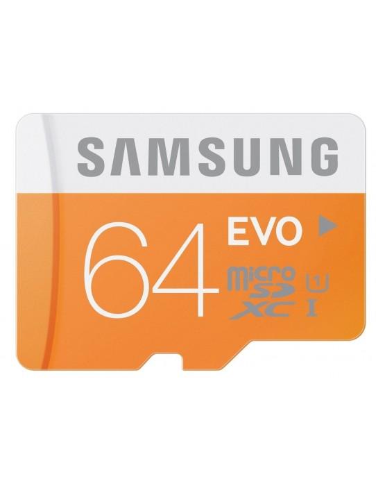 Tarjeta de memoria SAMSUNG Micro SD - 64 GB