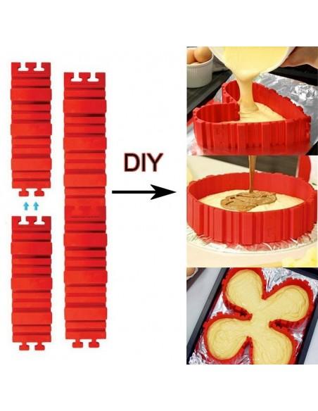 Modular cake mold