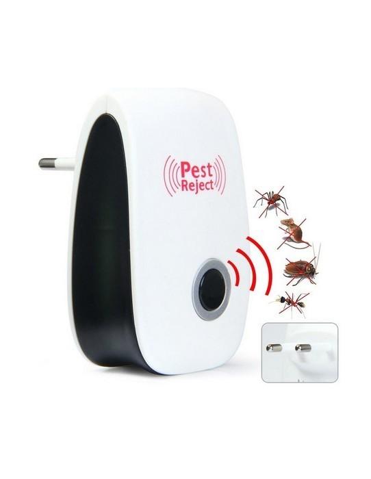 Repelente ultrasónico de insectos y roedores