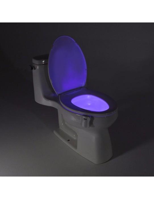 Smart LED WC - DÉTECTION DE MOUVEMENT 8 Couleurs.