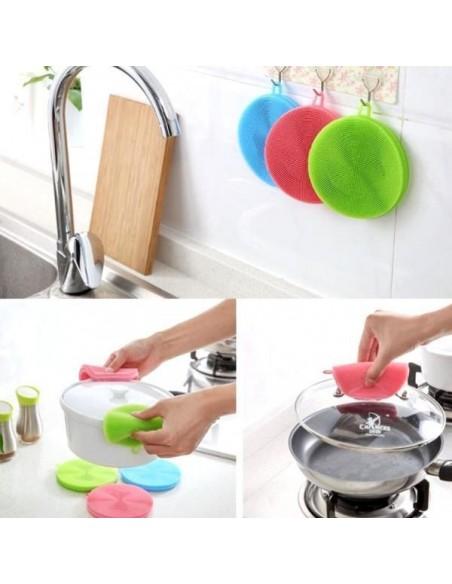Kitchen Silicone Sponge