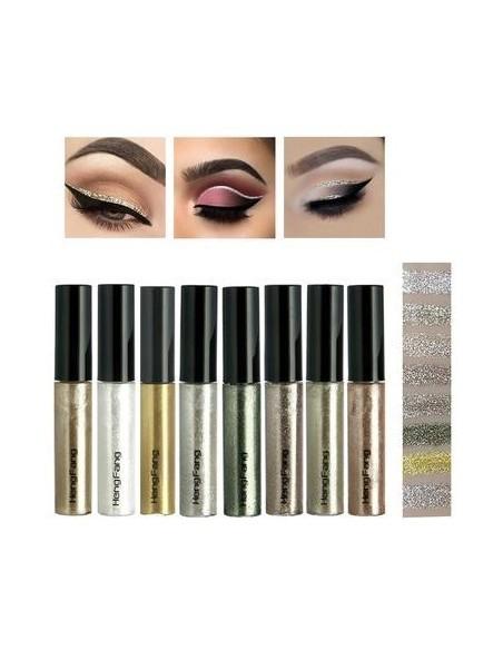 Waterproof and liquid waterproof eyeliner