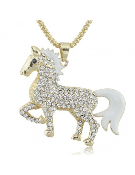 Chic horse pendant