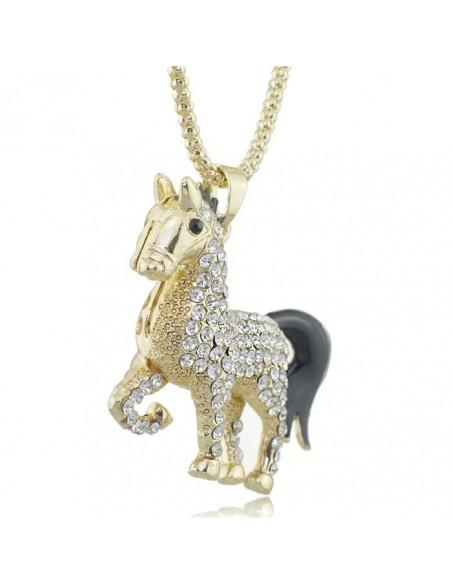 Elegante colgante de caballo
