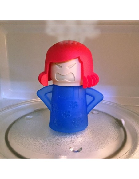Angry Mama, limpiador natural para microondas.