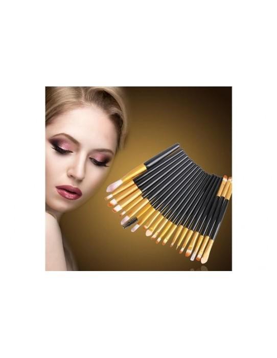 15 Pinceaux de maquillage professionnels