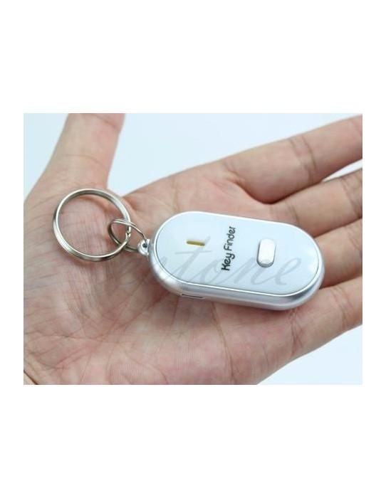 Keychain LED whistle