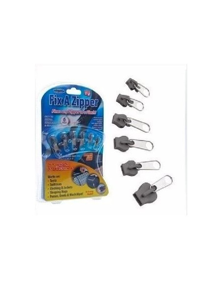 Universal zip closure packs of 6 pieces