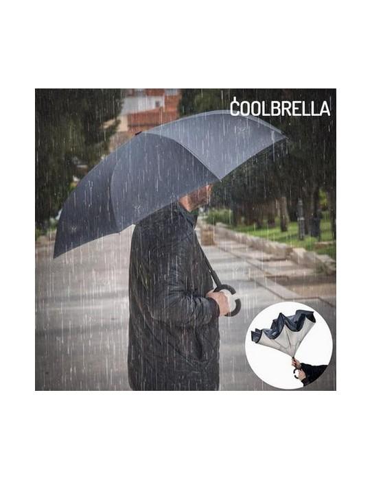 Paraguas con cierre reversible COOLBRELLA