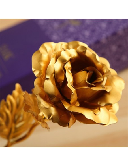 Rosa Eterna - Oro de 24 quilates