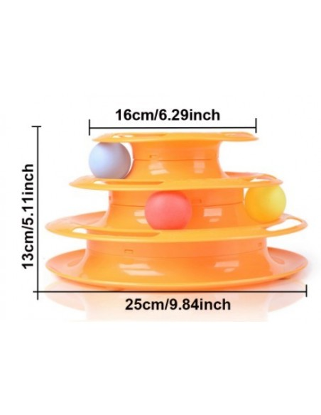 Cat Spiral Tower Toy