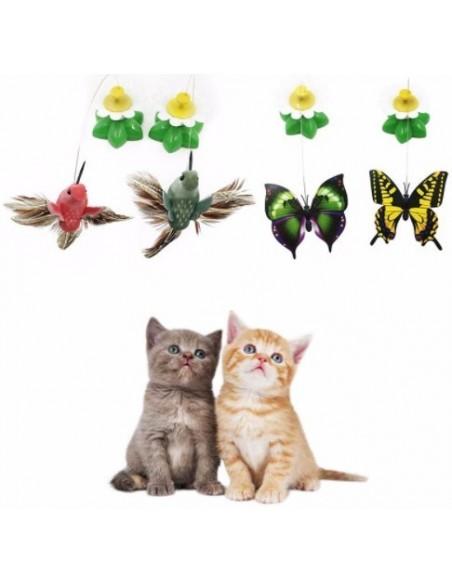 Juguete volador para gato