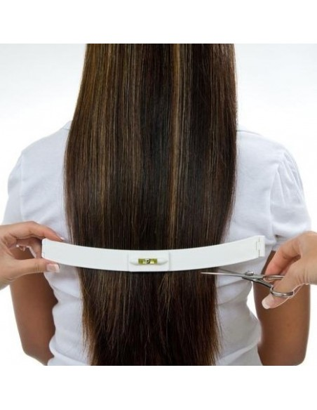 Hair cutting strips for bangs and spikes