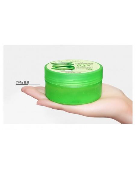 Gel para el cuidado de la piel con aloe vera