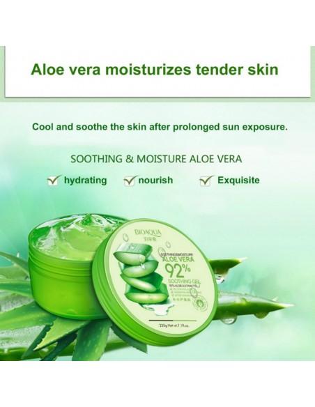 Gel Soins de la peau à l'Aloe Vera