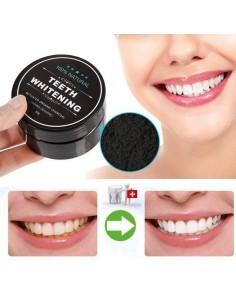 Pasta de dientes con carbón activado