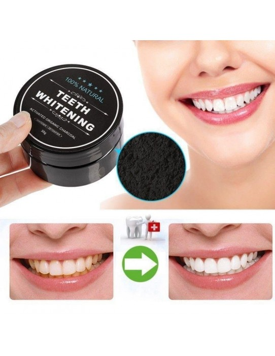 Activated carbon whitening toothpaste