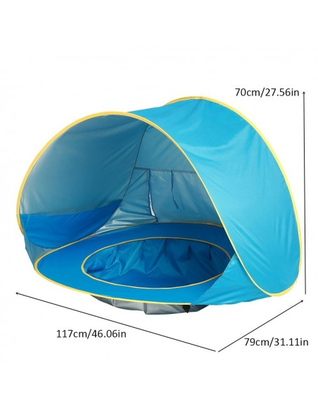 Tent beach swimming pool for baby