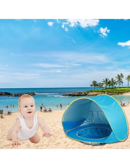 Tente piscine de plage pour bébé