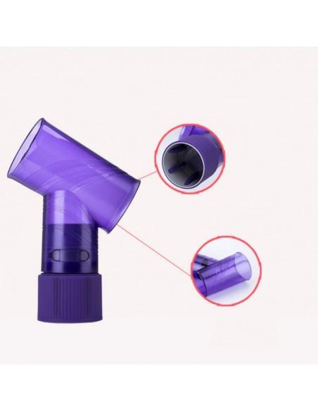 Hair curler tip for hair dryer