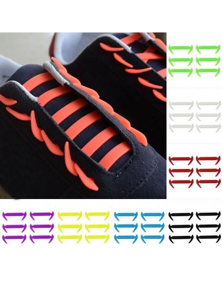 10PCS x 1 - Elastic laces.