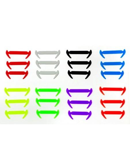 10PCS x 1 - Élastique Lacets.