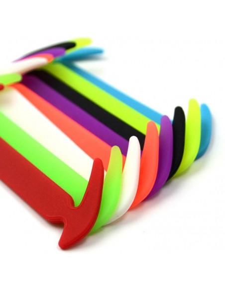 10PCS x 1 - Cordones elásticos.