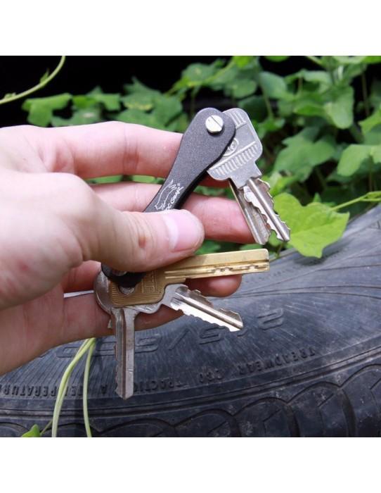 Porte clé couteau suisse