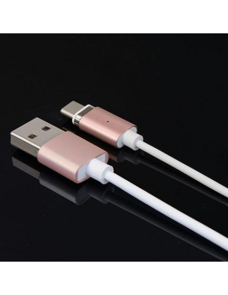 Câble chargeur magnétique pour iPhone et Android