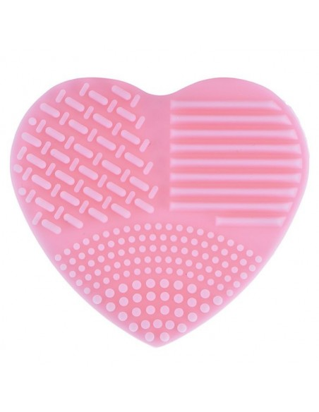 Cepillo de limpieza de guantes en forma de corazón.