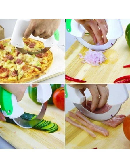 Cuchillo de cocina circular