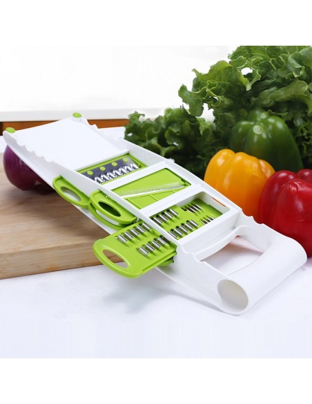 Râpe trancheuse coupe légumes et Fruits 7 en 1