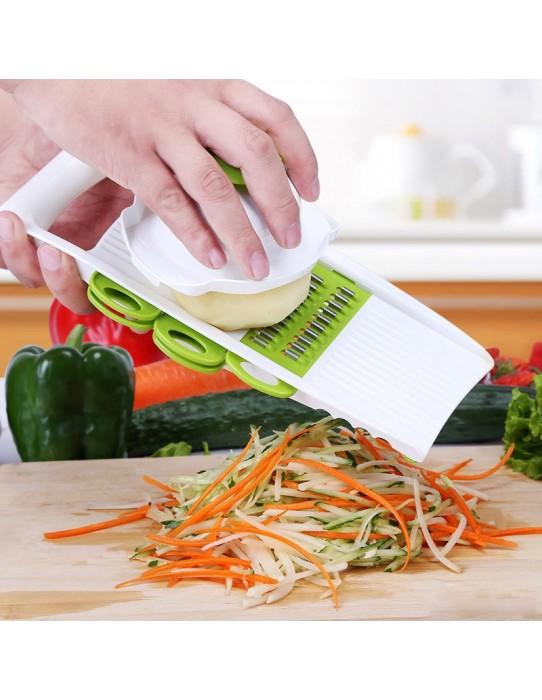 Rallador de verduras y frutas 7 en 1