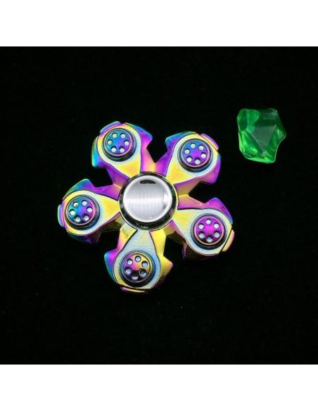 Spinner de mano pentagonal