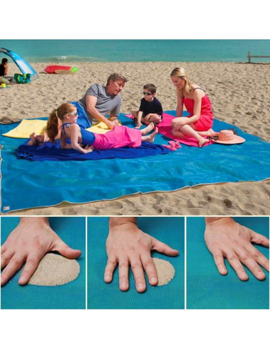 Anti sand beach mat