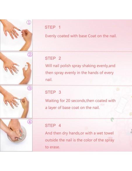 Vernis à ongles en aérosol