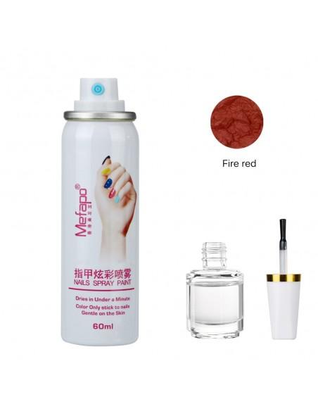 Esmalte de uñas en aerosol