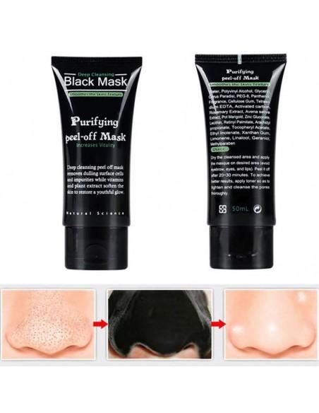 Mascarilla carboncillo anti blackheads 50ml.